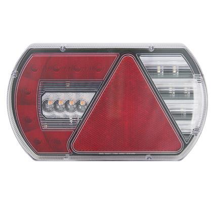 Storslåede LED baglygte 12V Venstre 5-polet bajonet stik FM09